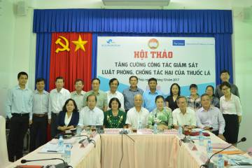 The Vietnam Fatherland Front actively participates in monitoring the implementation of the Law on Tobacco Control.
