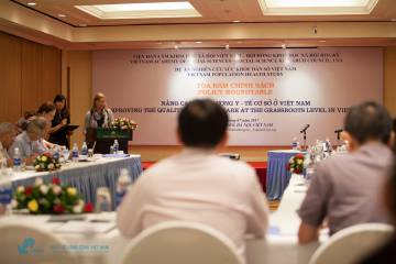 Seminar on Improving the quality of grassroots health in Vietnam on 18/07/2017