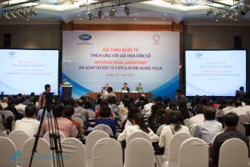 Professor Le Vu Anh attended the International Conference on Population Aging