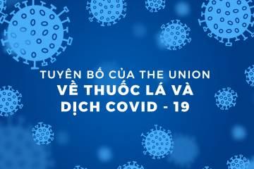 Tuyên bố của The Union về thuốc lá và dịch COVID-19