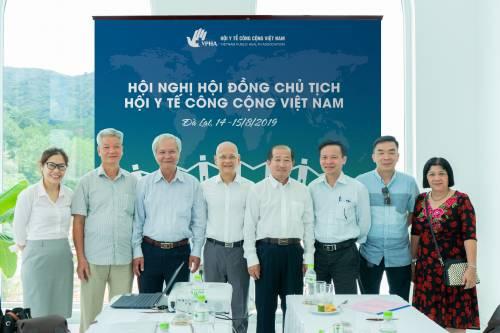 Hội nghị Hội đồng chủ tịch của Hội Y tế công cộng Việt Nam