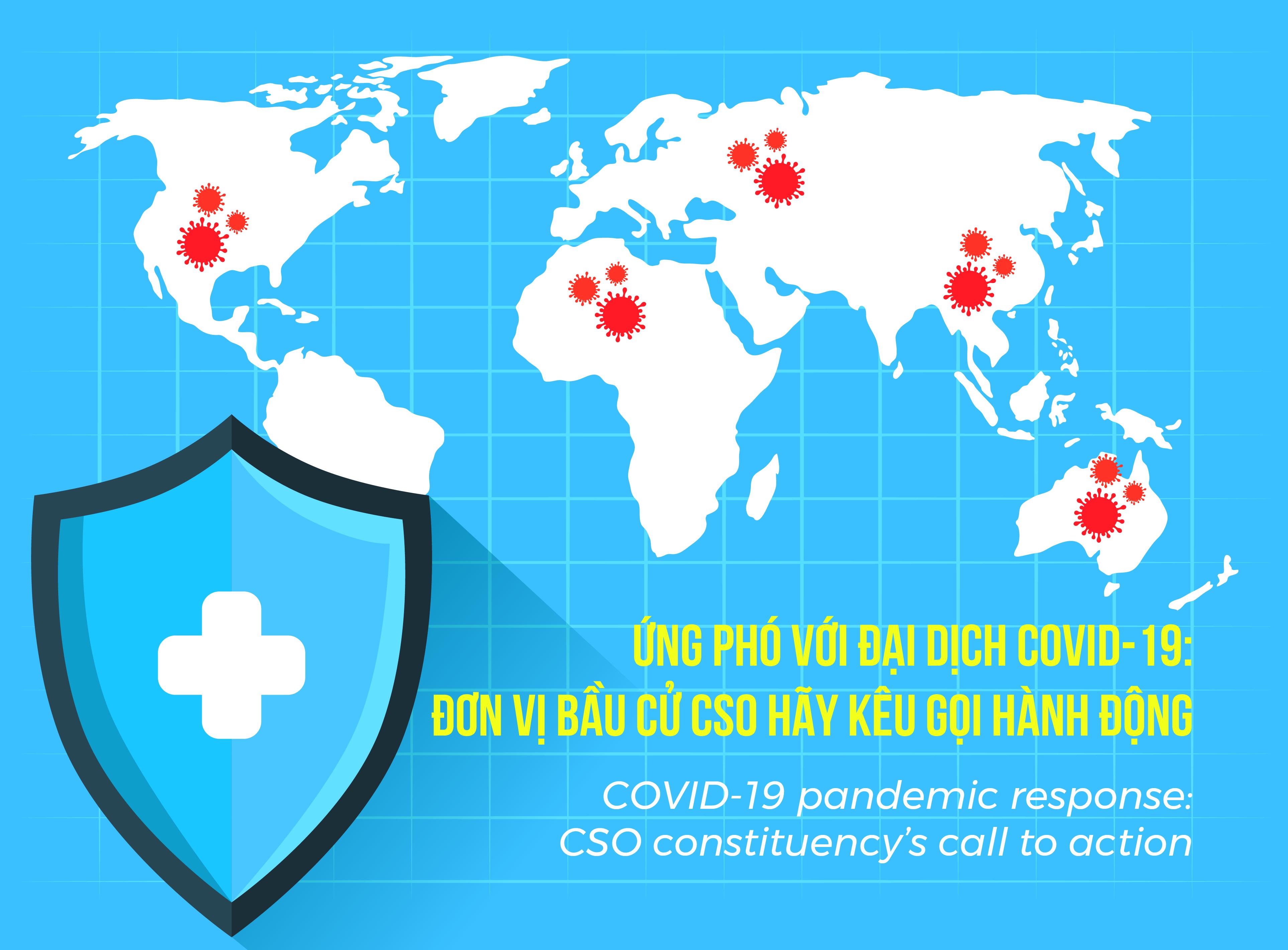Ứng phó với đại dịch COVID-19: Đơn vị bầu cử CSO Hãy kêu gọi hành động