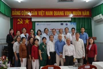 Hội nghị Tổng kết xây dựng mô hình hội viên YTCC cao tuổi tình nguyện trong thực thi Luật PCTHTL tại tỉnh Đồng Tháp 2018-2020