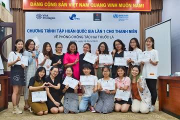 Chương trình tập huấn Quốc gia lần 1 cho thanh niên về Phòng chống tác hại thuốc lá năm 2020