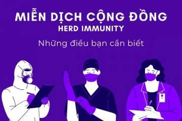 Miễn dịch cộng đồng và COVID-19 (coronavirus): Những điều bạn cần biết