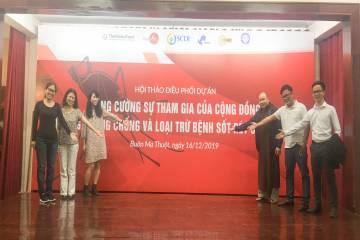 """Hội thảo điều phối dự án """"Tăng cường sự tham gia của cộng đồng trong phòng chống và loại trừ bệnh sốt rét tại Việt Nam"""""""