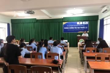 Thành lập Câu lạc bộ Đội Thanh niên tiên phong và tổ chức tập huấn về Luật Phòng, chống tác hại thuốc lá