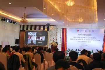 """Hội nghị tổng kết dự án """"Tăng cường sự tham gia của cộng đồng trong phòng chống và loại trừ bệnh sốt rét tại Việt Nam"""""""