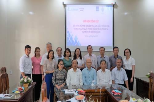 Hội nghị Tổng kết xây dựng mô hình hội viên YTCC cao tuổi tình nguyện trong thực thi Luật PCTHTL tại tỉnh Thái Bình 2018-2020