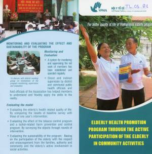 Elderly Health Promotion Program through the Active participation of the Elderly in community Activities