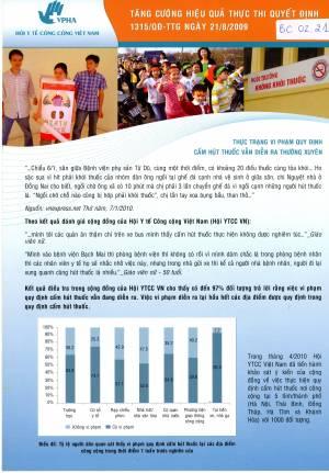 Tăng cường hiệu quả thực thi quyết định 1315 /QĐ-TTG ngày 21/8/2009