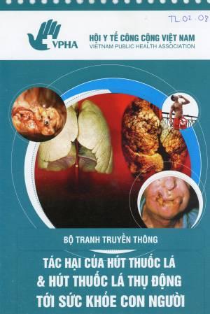 Bộ tranh truyền thông Tác hại của Hút thuốc lá và Hút thuốc lá thụ động tới sức khỏe con người