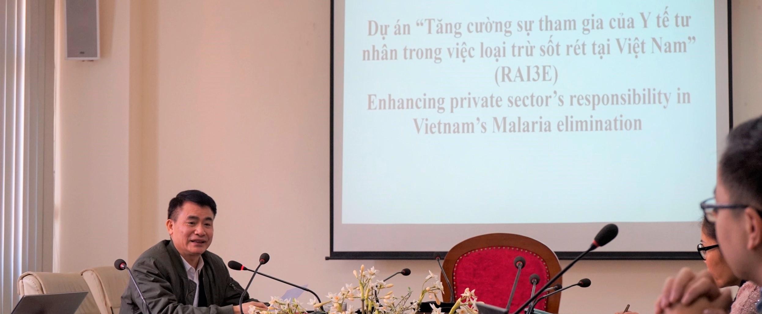 Xây dựng mối quan hệ, hợp tác giữa NIMPE và Hội Y tế Công cộng Việt Nam